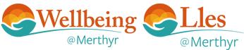 Welbeing @ Merthyr logo