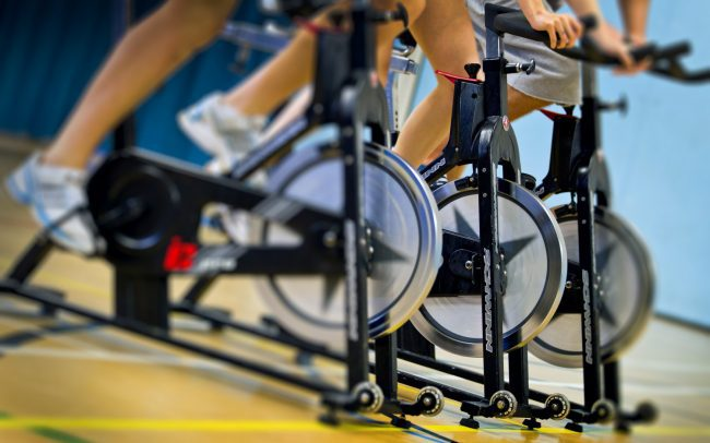 spin class cycle workouit