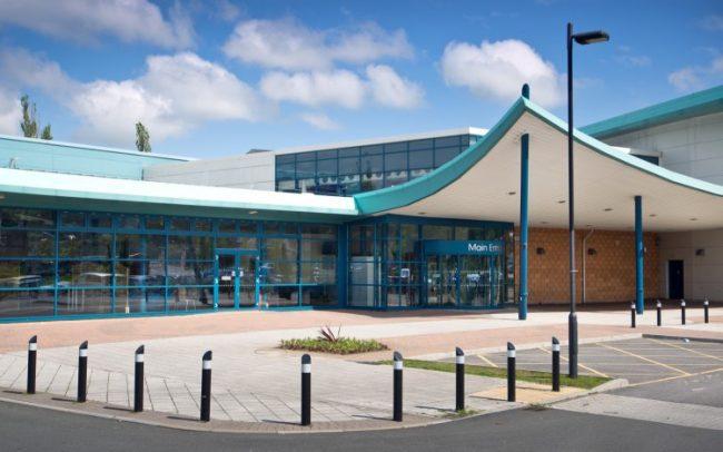 merthyr leisure centre building