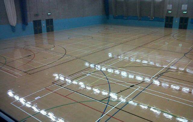 renovate sports hall