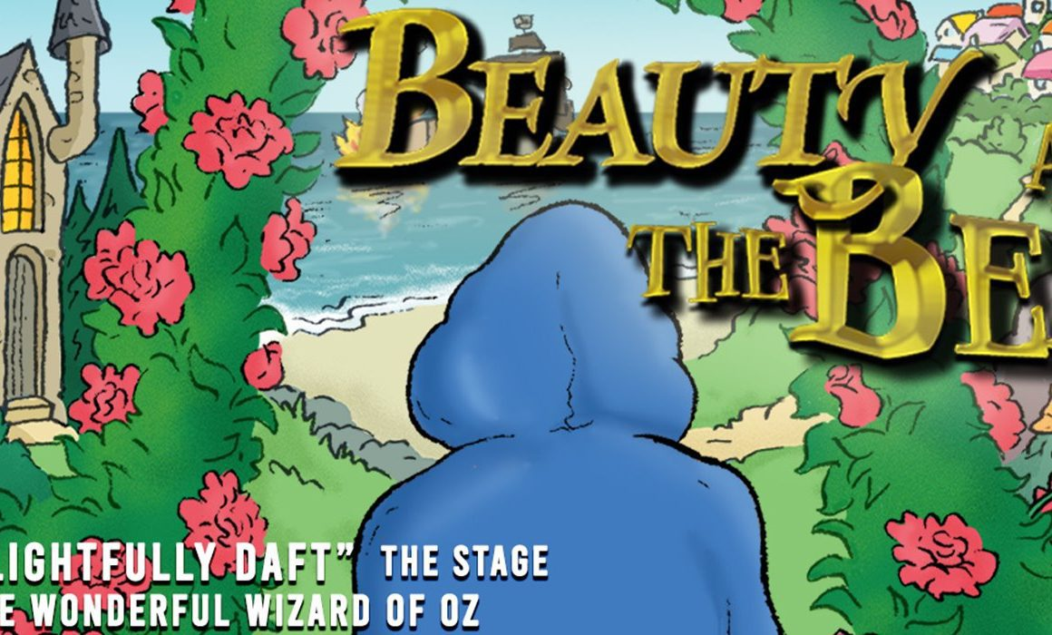 beauty and the beast play advert